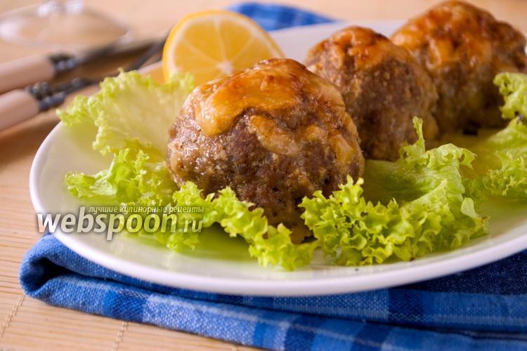Рецепт Биточки из телятины с сыром
