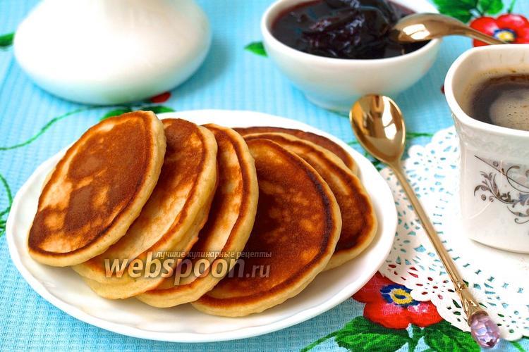 Рецепт Оладьи на йогурте
