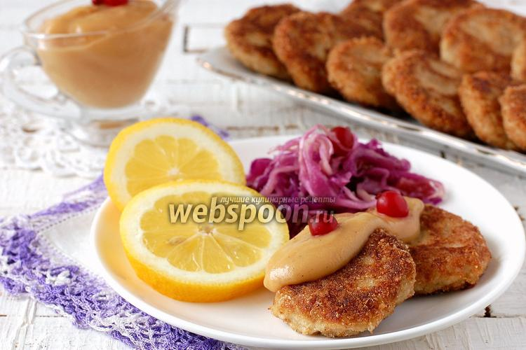Рецепт Рыбные котлеты из скумбрии