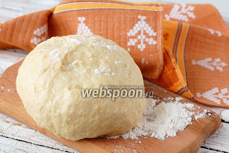Рецепт Швейцарское постное песочное тесто