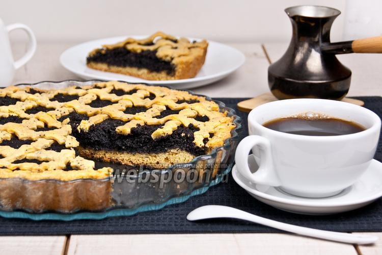 Рецепт Маковый пирог без яиц