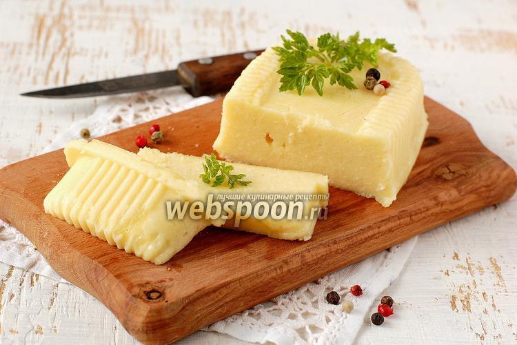 Рецепт Домашний плавленый сыр