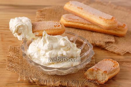 Масляный сметанно-яичный крем