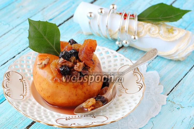 Рецепт Яблоки запечённые в микроволновке