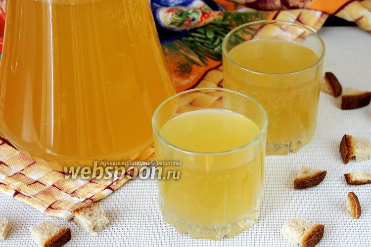 Рецепт Квас хлебный на берёзовом соке