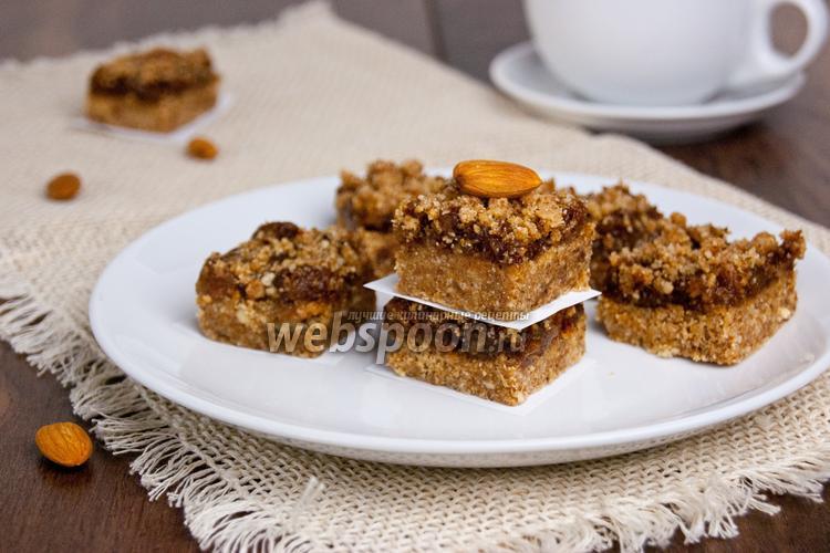Рецепт Домашние пирожные из фиников