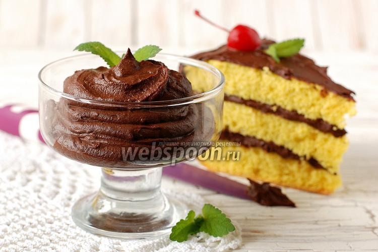 Фото Шоколадный крем из шоколада