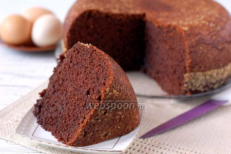 Бисквит шоколадный в мультиварке