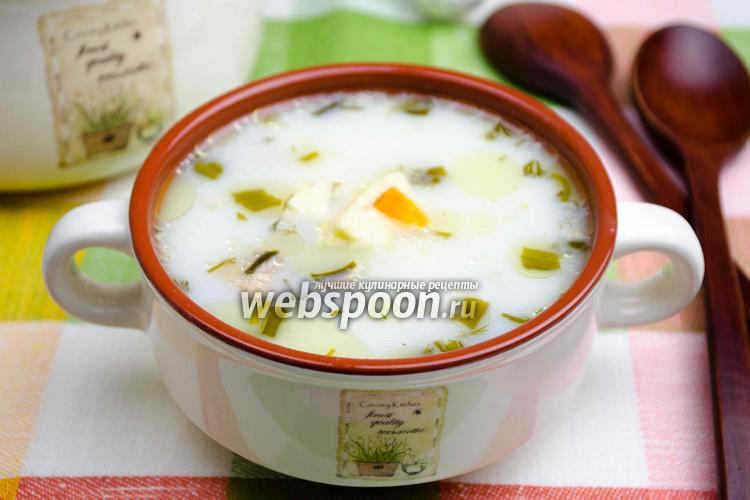 Рецепт Суп с сыром в мультиварке