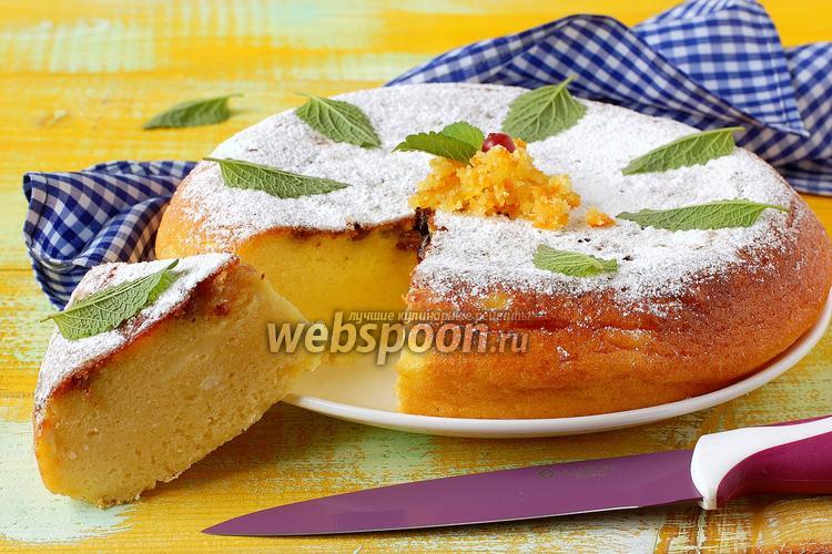Рецепт Творожный пирог в мультиварке