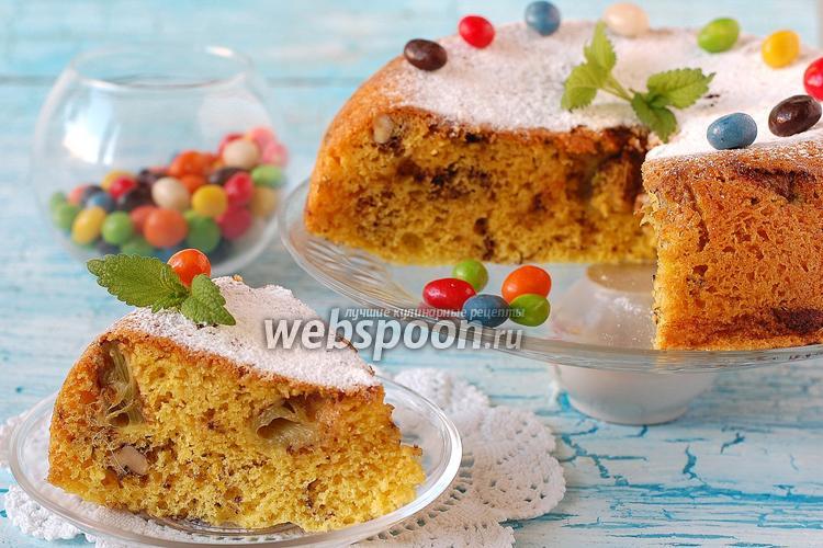 Пирог с ревенем в мультиварке рецепты с фото