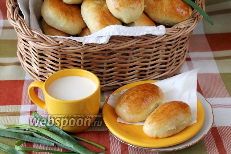 Фото Пирожки с яйцом и луком печёные