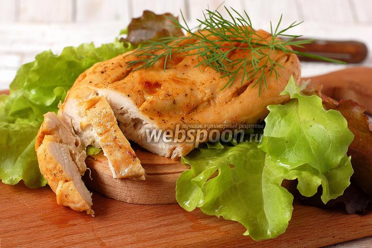 Рецепт Куриная грудка в мультиварке