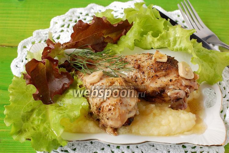 Курица тушеная в мультиварке пошаговый рецепт с