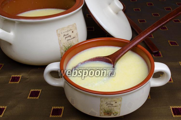 Рецепт Кукурузная молочная каша в мультиварке