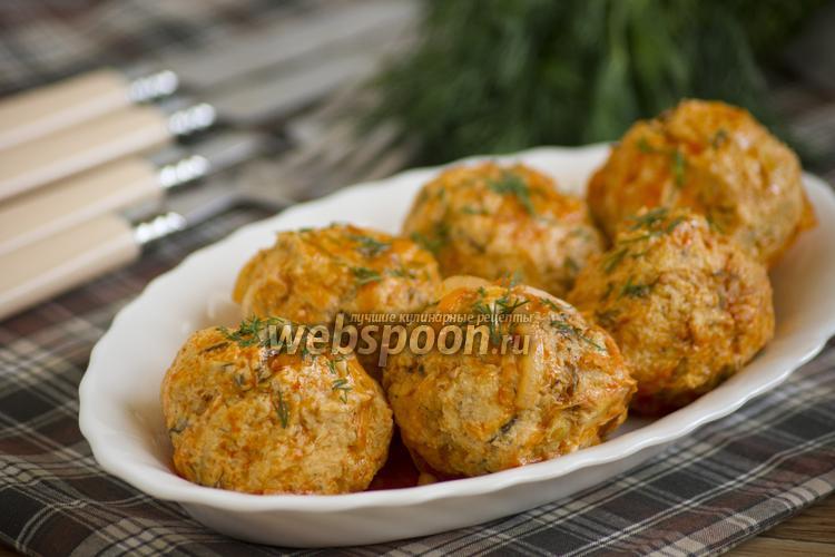 Рецепт Куриные тефтели с капустой