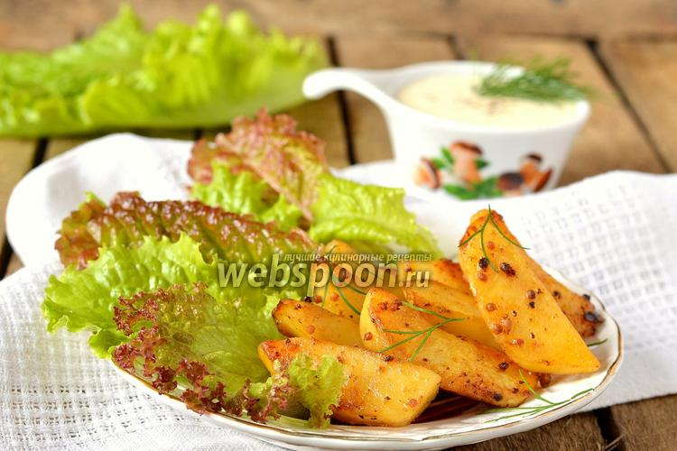 Рецепт Картофель в горчичном маринаде в мультиварке