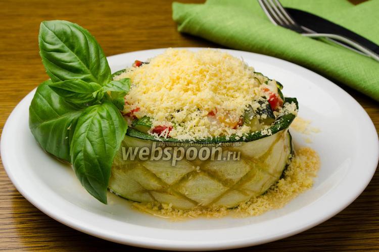 Фото Салат из печёных овощей