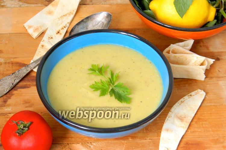 Фото Турецкий суп из чечевицы