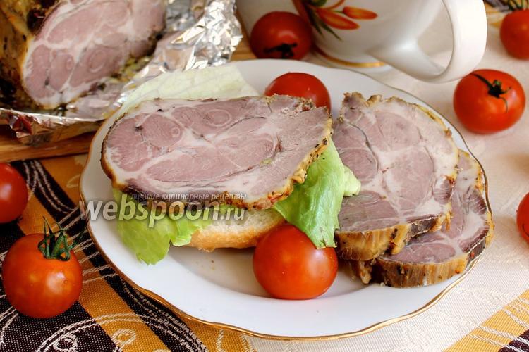 Рецепт Свиная шейка в духовке
