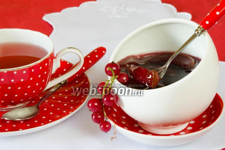Рецепт Груши в пюре из красной смородины