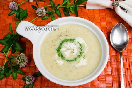 Овощной суп со сливками в мультиварке