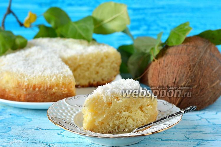 Рецепт Кокосовый кухен в мультиварке