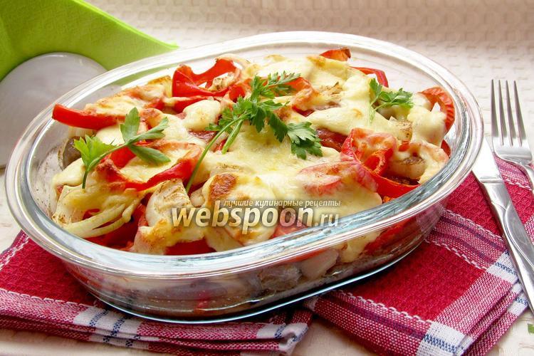 Фото Фрикадельки с овощами в духовке