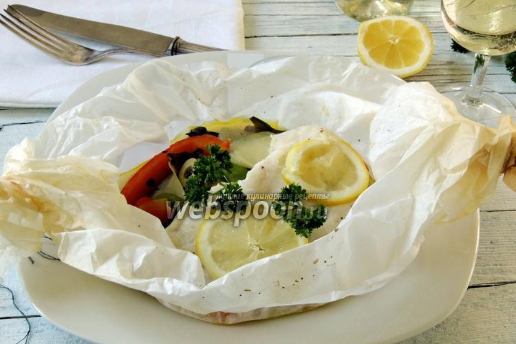 Рецепт Пангасиус в мешочке с овощами