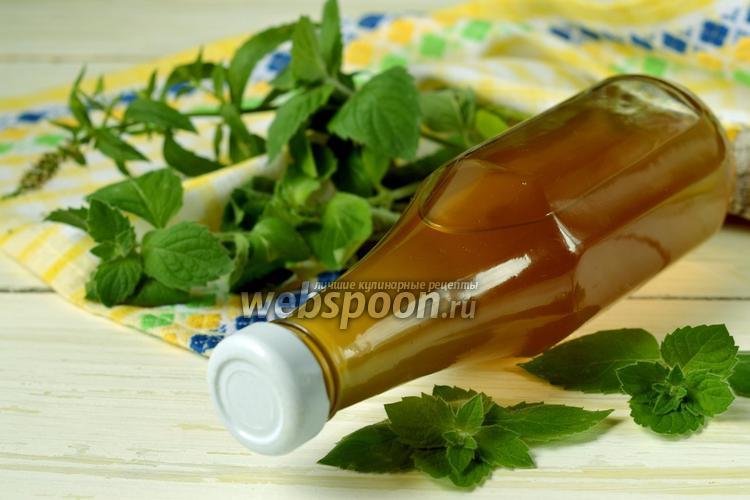 Рецепт Мятный сироп