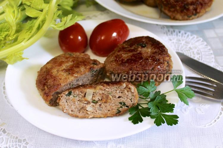 Рецепт Котлеты из фарша и картофеля