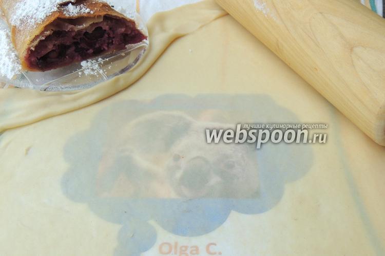 Рецепт Тесто для штруделя или вытяжное