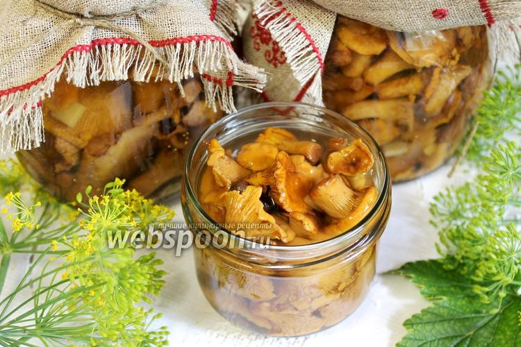 Рецепт Маринованные лисички на зиму