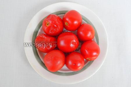 Через 2 недели можно снимать пробу с малосольных помидор. Приятного аппетита!