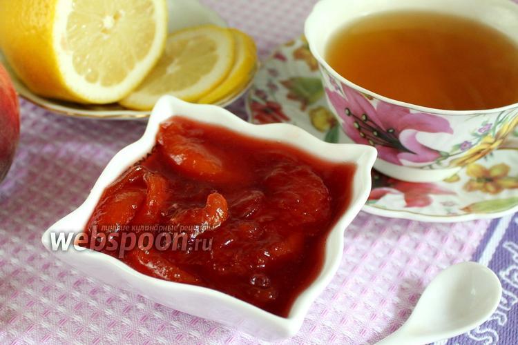 Рецепт Конфитюр из персиков с коньяком