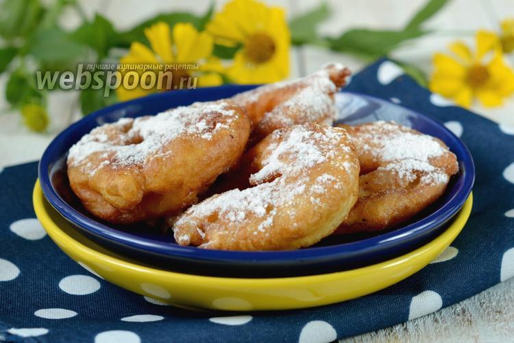 Рецепт Яблочные фриттеры
