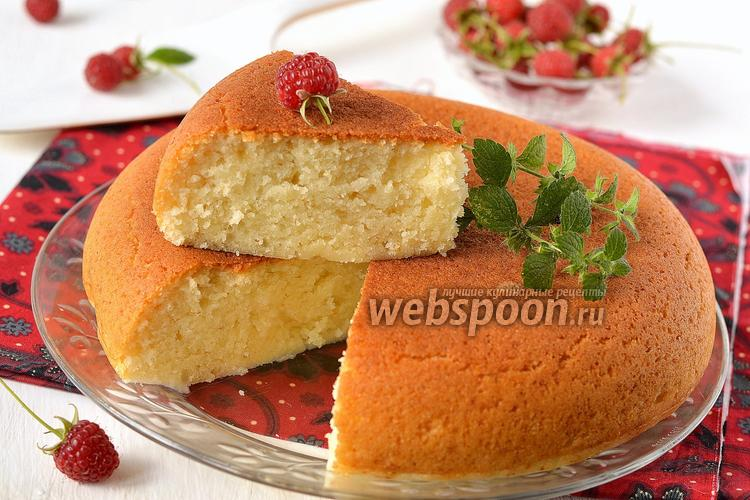 Рецепт Индийский бисквит без яиц в мультиварке
