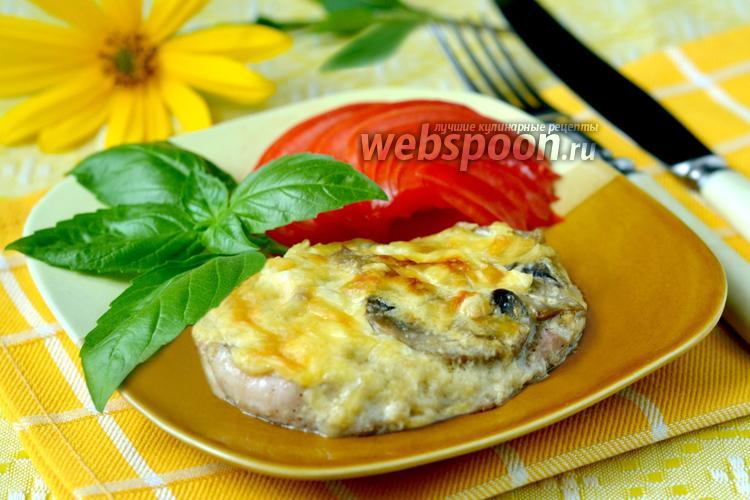 Рецепт Свинина «Боярская» с грибами