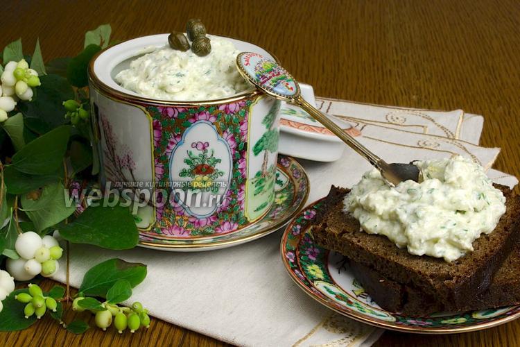 Рецепт Греческий соус «Дзадзики»