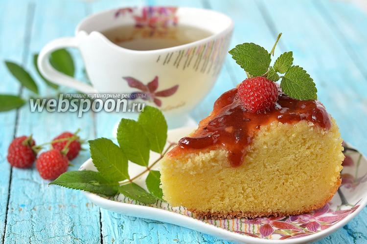 Рецепт Манно-молочный бисквит в мультиварке