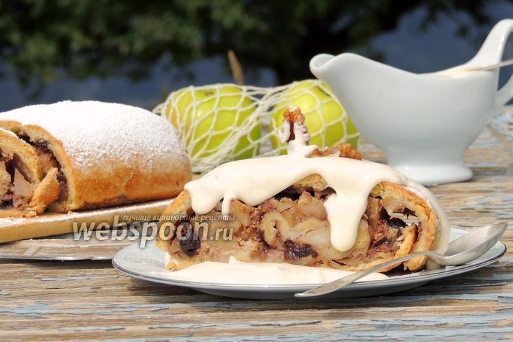 Рецепт Вертута с яблоками