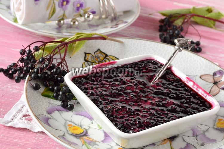 Рецепт Варенье из чёрной бузины