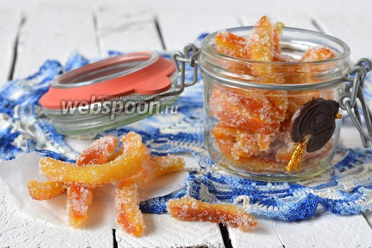 Фото Цукаты из апельсиновых корок