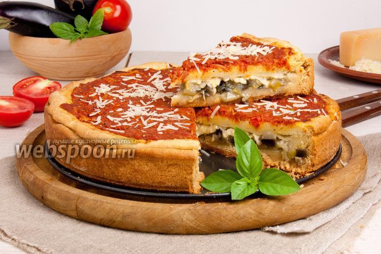 Рецепт Пирог-пицца по-чикагски