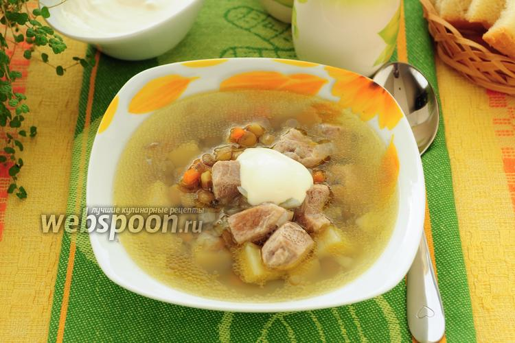 Рецепт Суп с чечевицей в мультиварке