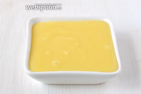 Мягкий плавленый сыр готов.