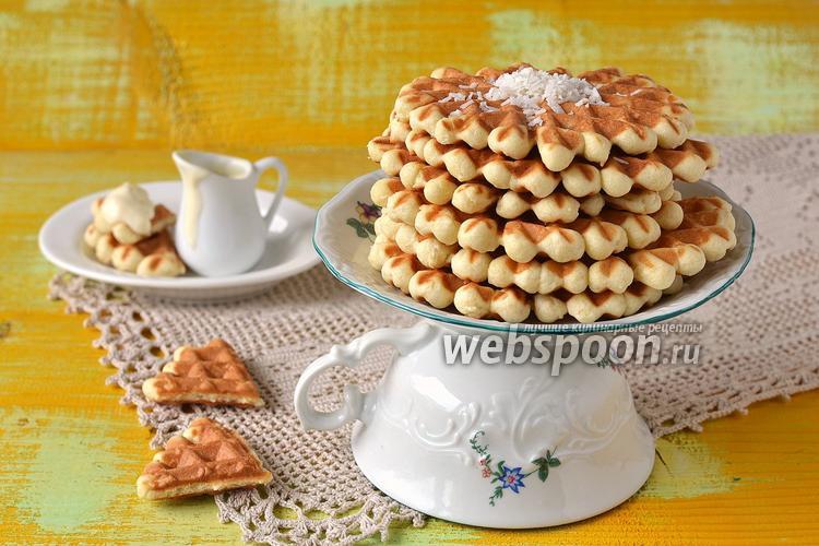 Рецепт Кокосовые вафли