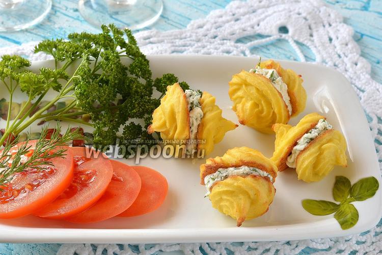 Рецепт Закусочные пирожные из цветной капусты