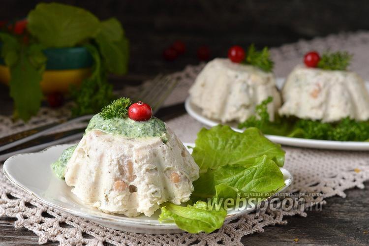 Рецепт Белковый куриный мусс с фасолью в мультиварке