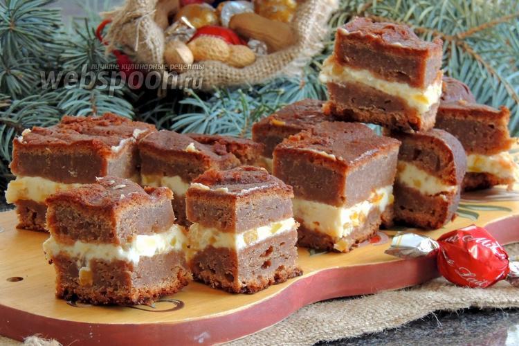 Рецепт Лебкухен с горчичными фруктами